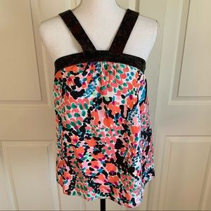 Rare Sample Lilly Pulitzer Sweet Nothings Top Silk
